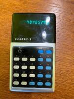 1975 ös ROGER F-3 korai számológép kalkulátor