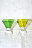 2 db régi likörös pohár  ( DBZ 0016 )