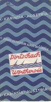 PÖRTSCHACH / Wörtthersee képes idegenforgalmi prospektus 1930ca