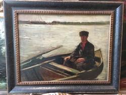 Knopp Imre : A csónakos