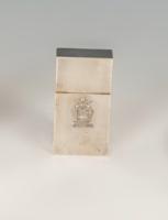 Ezüst címeres szelence