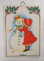Miss Petticoat Porcelán Vilbocard képeslap,1980 körül.Villeroy&Boch Sérülésmentes állapotú