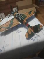 Rég Fém repülő makett játék