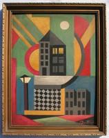 Alexander Bortnyik's painting