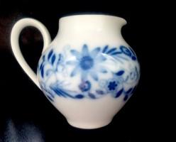 Kék mintás porcelán kiöntő Hutschenreuther Charmant