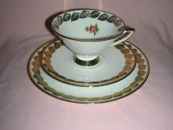 Reggeliző porcelán készlet