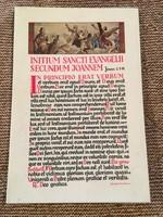 Kánontábla- utolsó evangélium