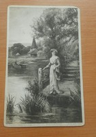 Régi Belga képeslapok 5 db