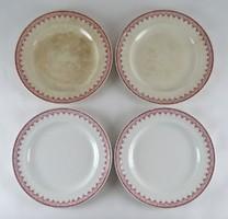 1A990 Antik Couldon angol fajansz tányér 4 darab