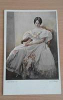 Wiener Kunst régi szép képeslapok 10 db