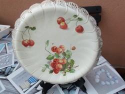 ANGOL ANTIK FAJANSZ TORTA TÁL!!!