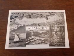 Régi képeslap 1942 a Balaton