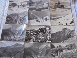 12 darab képeslap a Tátrából