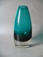 Skandináv váza, jelzett (Riihimaen Lasi)