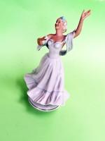 Ritkább Volkstedt  balerina kisplasztika gyűjteménybe