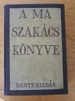 A ma szakácskönyve z. Tábori Piroska 4. kiadás