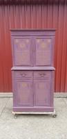 Romantikus tároló szekrény..145 cm magas..egyedi...