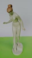 Vízbelépő nő Aquincumi 38 cm. akt
