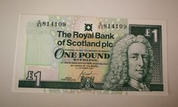 Skócia 1 Pound UNC 2001