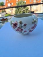 Zsolnay porcelán, kis váza, bonbonier, cukortartó, ékszertartó