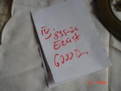Ezüst/835/Mandzsetta