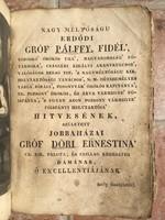 Auróra (nyolczadik év) Kiadás ideje 1829