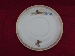 Orosz Kornyilov porcelán teáscsésze alátét. Az orosz cár részére készített egyedi darab.
