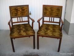 Ónémet 2 db karfás szék