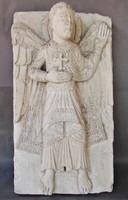 Antik gipsz relief,  fali táblakép
