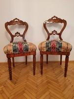Felújítótt Neo Barokk szék párban