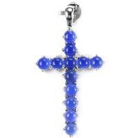 Valodi Kalcedon Kereszt 925 Ezust Medal