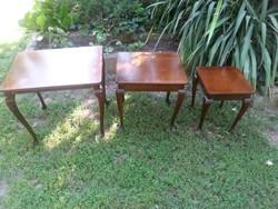 3 -s lerakó asztal egymás alá csúsztatható II