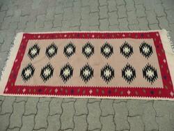 Antik,  kilim szőnyeg  szép állapotban 185*83 cm méretben kb.1930-40 környéke