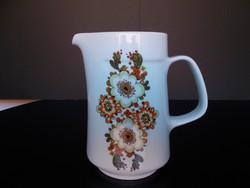 Szép retro Alföldi porcelán kiöntő, kancsó, 1,7 literes
