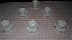 Zsolnay porcelán készlet