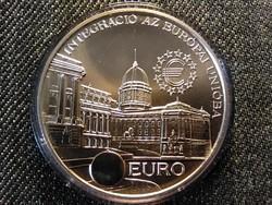 Integráció az Európai Unióba Budavári Palota ezüst 2000 Forint 1997 BP BU (id25531)