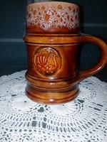 Zsolnay porcelán korsó