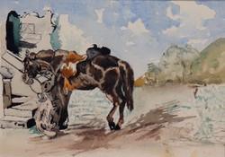 A két barát (Egy kutya és egy ló)