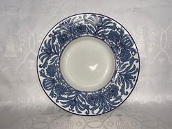 Olasz nagyméretű kerámia falitányér, tányér, 32 cm.
