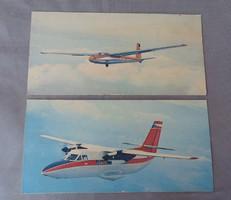 Utasszállító repülő 1960 -as évek nyomat
