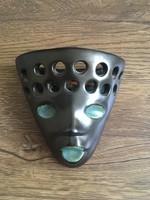 Retro kerámia fali maszk