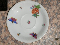 Herendi pillangó, minta, Viktória. 1939 jubileumi! Aranyozás jó, tálka, tányér, alátét! Akár hamuzó