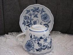 Thun porcelán (Meisseni formula) teás szett