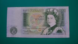 Egyesült Királyság - 1 Font Bankjegy - 1982