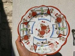 Keleti, kína, Japán stb tányér tál festett . Különleges!