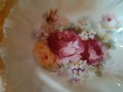 Rózsás Viktória porcelán kínáló tál