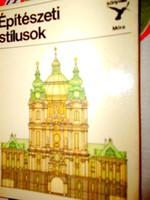 Kolibri könyv sorozatból :Építészetei stílusok (1978 )