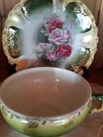Álomszép rózsás csésze szett