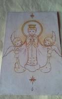 Angolkisasszonyok Egri Intézete antik képeslap