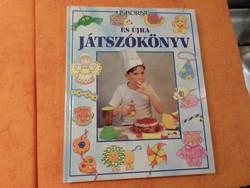 USBORNE ÉS ÚJRA JÁTSZÓKÖNYV Képes foglalkoztató  kisiskolásoknak,, 1994